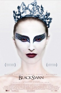 The super-creepy Black-Swan-Nina doesn't make her apperance until the last few minutes of the film, and the wait is WORTH IT!