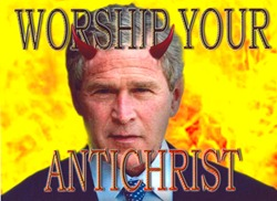 When George W. Bush was elected, he joined the long list of presidents suspected by some of being the Antichrist.