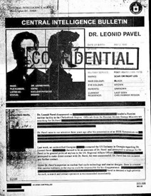"The ""leaked"" CIA Document introducing us to Dr. Pavel"