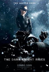 Catwoman receives Batman's weapons.