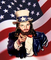 Logan rejected uncritical Christian support of the US government and military.