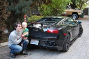Joel, Lazlo and the Lambo