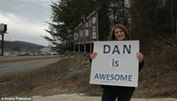 She praised Dan at the city gates. But Dan really IS awesome!