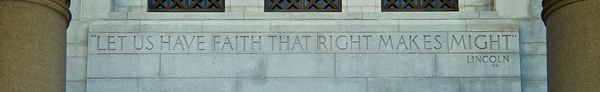 "Los Angeles City Hall. This quote opens the closing shot of ""Gangster Squad""."