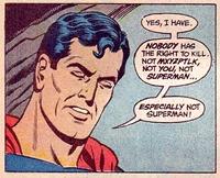 EVEN SUPERMAN