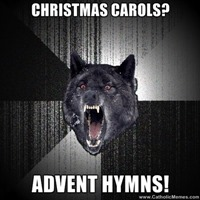 Advent Carol Meme