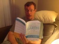 Randal enjoying his new book!