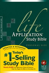 Life Application Study Bible Page