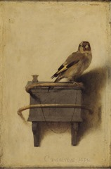 The Goldfinch by Fabritius (AD 1654)