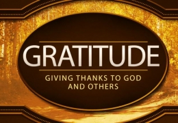 Gratitude toward Others