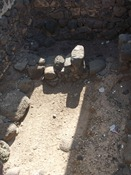 Remains of Capernaum's first-century synagogue, the one where Jesus taught and performed a couple of miracles!