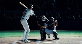 Moneyball is sort of about baseball. It's really about change.