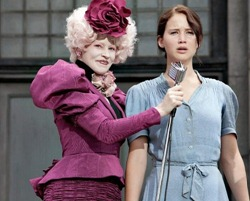 And Effie's pretty toned-down for a Capitol citizen...