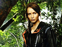 Katniss' body becomes the major site of resistance in the films. The rebellion starts here!