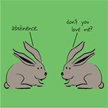 Rabbits... teens... there's a joke here...